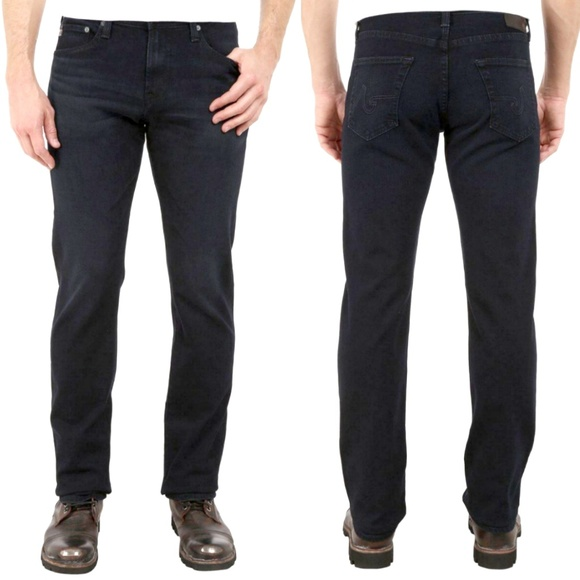world-wide renown best wholesaler official AG 'The Graduate' Tailored Leg Jeans in Black